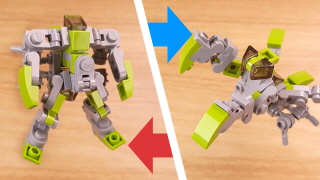 Micro mantis type transformer robot - Mantisbot (similar to Buzzclaw and Manterror)