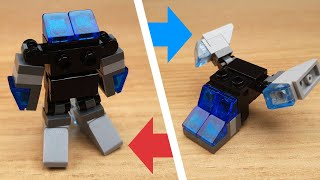 Blue eyes - Triple Changer Transformer Robot