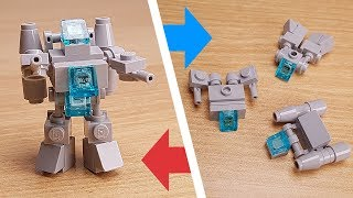 Gray Jets - Micro sized Combiner Transformer Robot