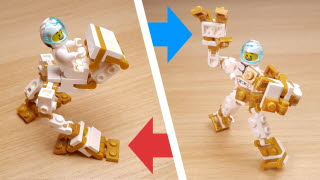 Transformer Robot - Vehicle for mini figure  (Bipedal mech)