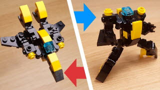 Fighter Jet Transformer Mech (similar with Valkyrie)