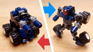 Navy Cannon Transformer Mech