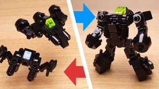 Black Arms - Fighter Jet&Hovercrafet Combiner Robot(transformer mech)