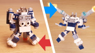 Heavy Arms (unarmed small mech & heavy armed big mech transformer mech)