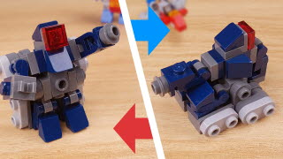 Tank Transformer Mecha (similar to Shockwave) - Shocker