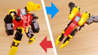 Micro fighter jet transformer robot - Jet Spear