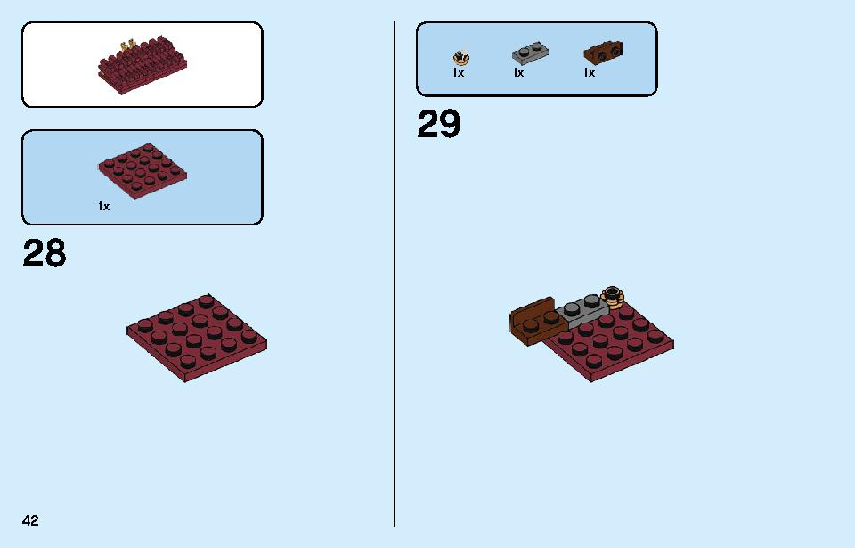Chinese New Year Temple Fair 80105 LEGO information LEGO instructions 42 page