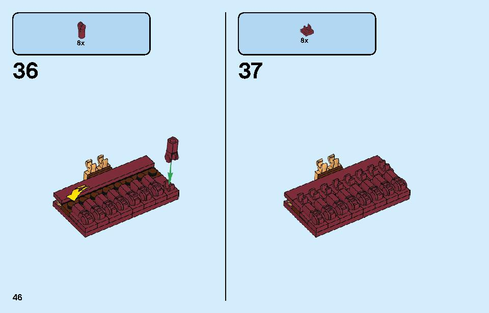 Chinese New Year Temple Fair 80105 LEGO information LEGO instructions 46 page