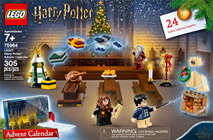 75964 Harry Potter Advent Calendar LEGO information LEGO instructions LEGO video review