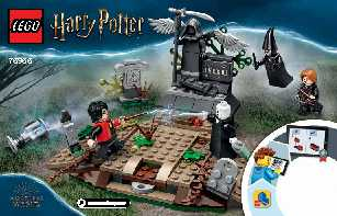75965 The Rise of Voldemort LEGO information LEGO instructions LEGO video review
