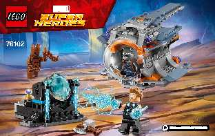 76102 Thor's Weapon Quest LEGO information LEGO instructions LEGO video review