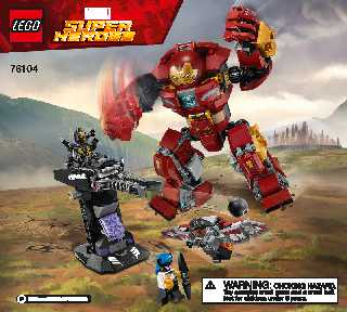 76104 The Hulkbuster Smash-Up LEGO information LEGO instructions LEGO video review