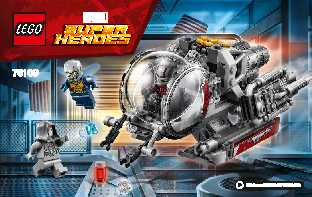 76109 Quantum Realm Explorers LEGO information LEGO instructions LEGO video review
