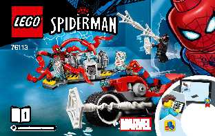 76113 Spider-Man Bike Rescue LEGO information LEGO instructions LEGO video review