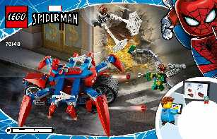 76148 Spider-Man vs. Doc Ock LEGO information LEGO instructions LEGO video review