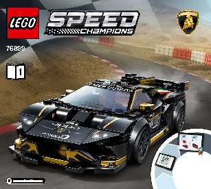 76899 Lamborghini Urus ST-X & Lamborghini Huracán Super Trofeo EVO LEGO information LEGO instructions LEGO video review